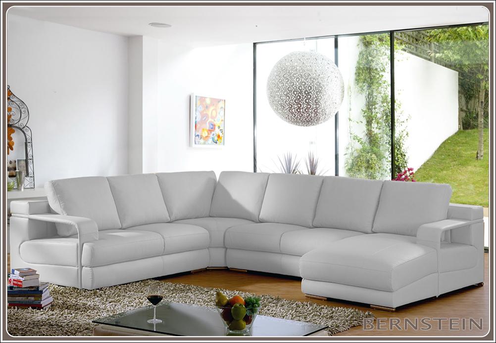 Bernstein xxl wohnlandschaft 0558 eck couch neu ledercouch for Eck wohnlandschaft