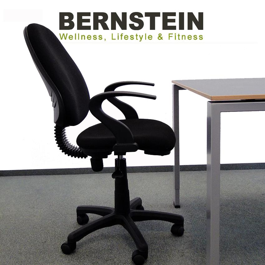 bernstein b rostuhl m1rp schwarz ebay. Black Bedroom Furniture Sets. Home Design Ideas