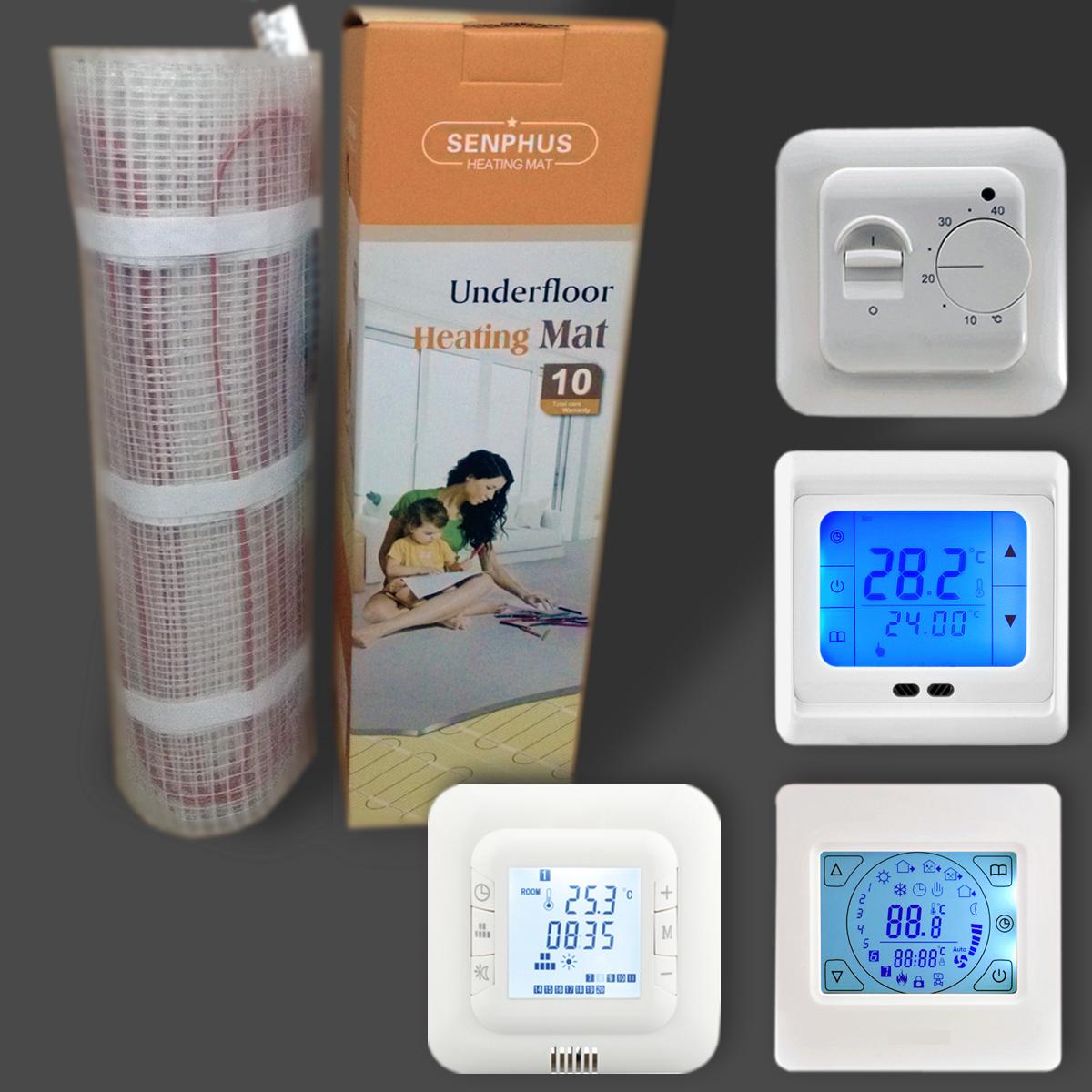 bernstein elektrische fu bodenheizung elektrisch 200w m mit twin technologie ebay. Black Bedroom Furniture Sets. Home Design Ideas