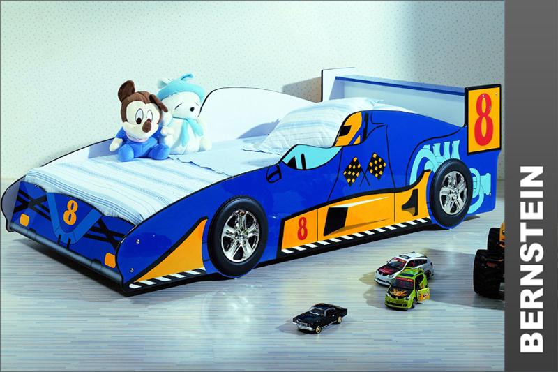 Kinderbett auto blau  Rennwagen Bett ~ Möbel und Heimat Design Inspiration