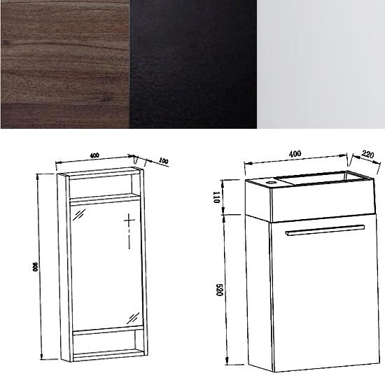 bernstein badm bel g ste bad waschbecken unterschrank wei. Black Bedroom Furniture Sets. Home Design Ideas
