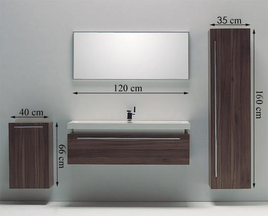 Bernstein design kit mobilier pour salle de bain meuble de for Mobilier pour salle de bain